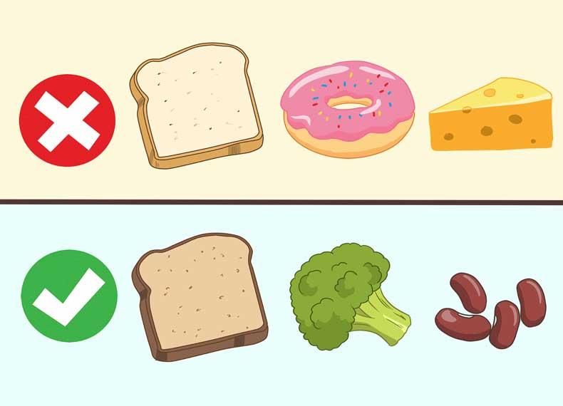 غذای مفید برای جوش کیستیک