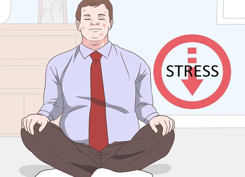 استرس و ایجاد جوش کیستیک