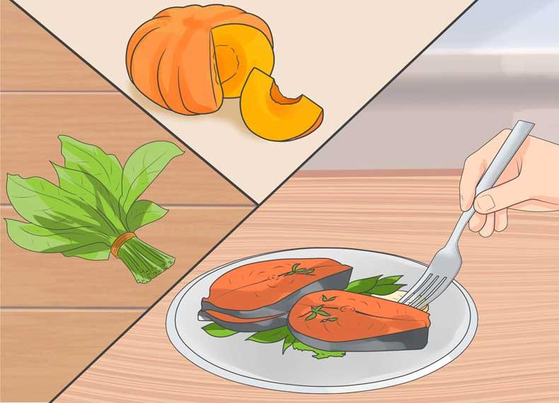 موادغذایی مفید برای جوش کیستیک
