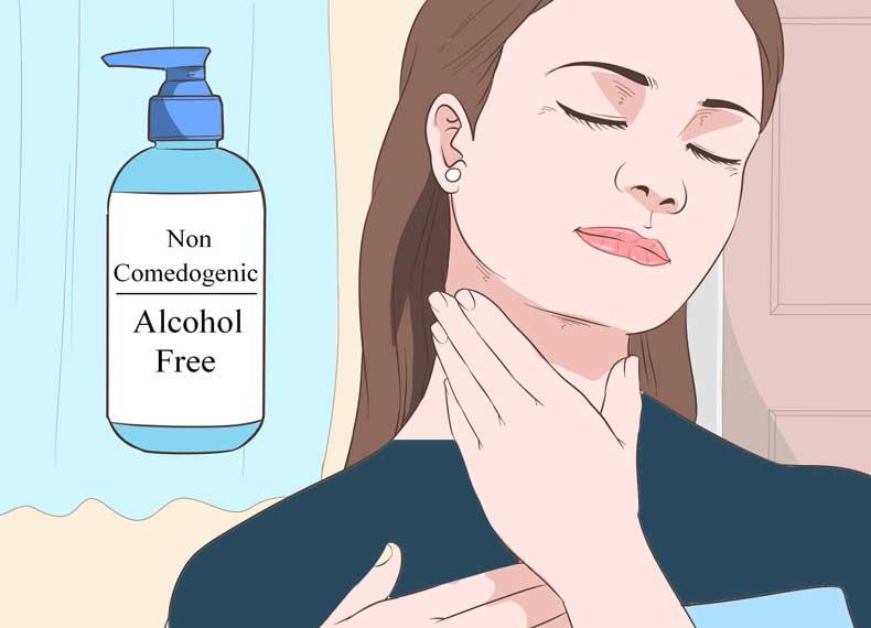 علت ایجاد جوش گردن