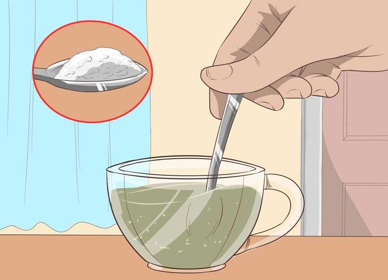 درمان جوش گردن با نمک