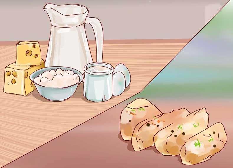 موادغذایی ضروری برای درمان جوش زیرپوستی