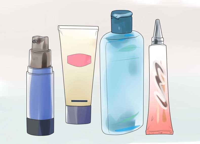 محصولات ضد جوش صورت