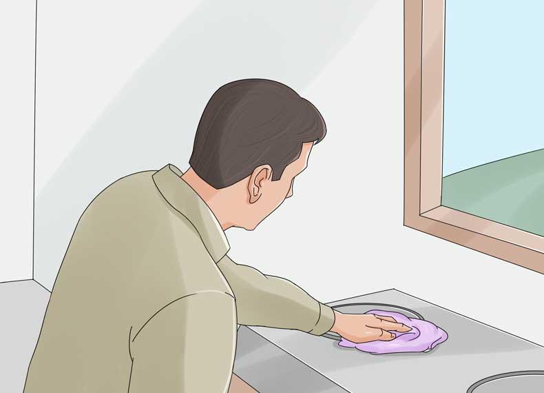 تمیز کردن اصولی اجاق گاز