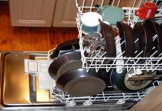 بارگزاری ماشین ظرفشویی
