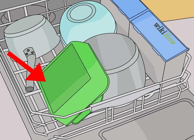 علت تمیز نشدن ظروف داخل ماشین ظرفشویی