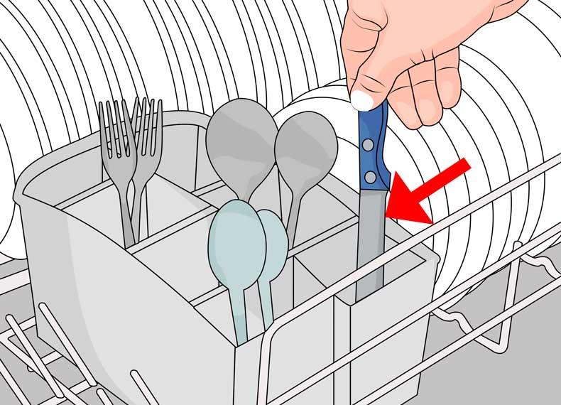 طریقه استفاده از ماشین ظرفشویی