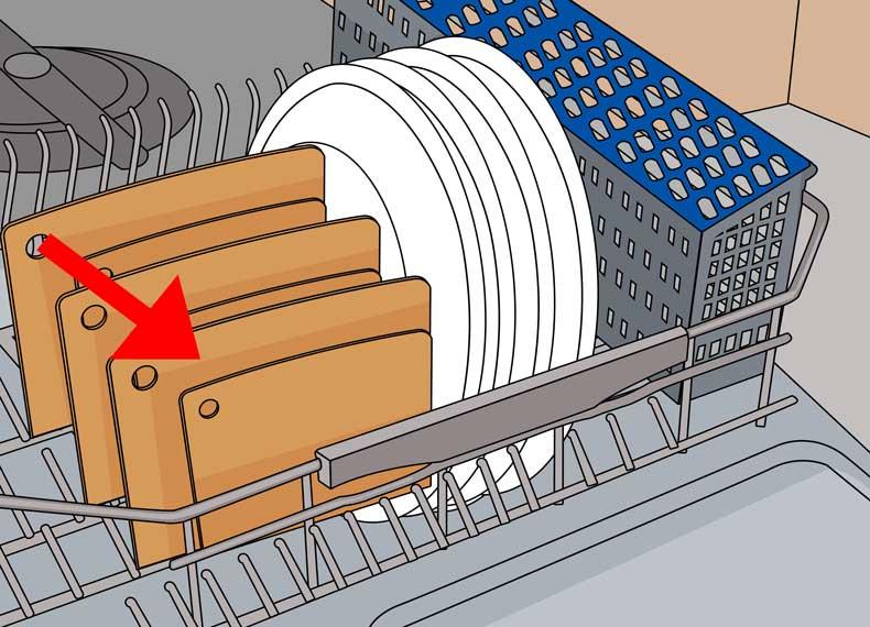 طریقه چیدمان درست ماشین ظرفشویی