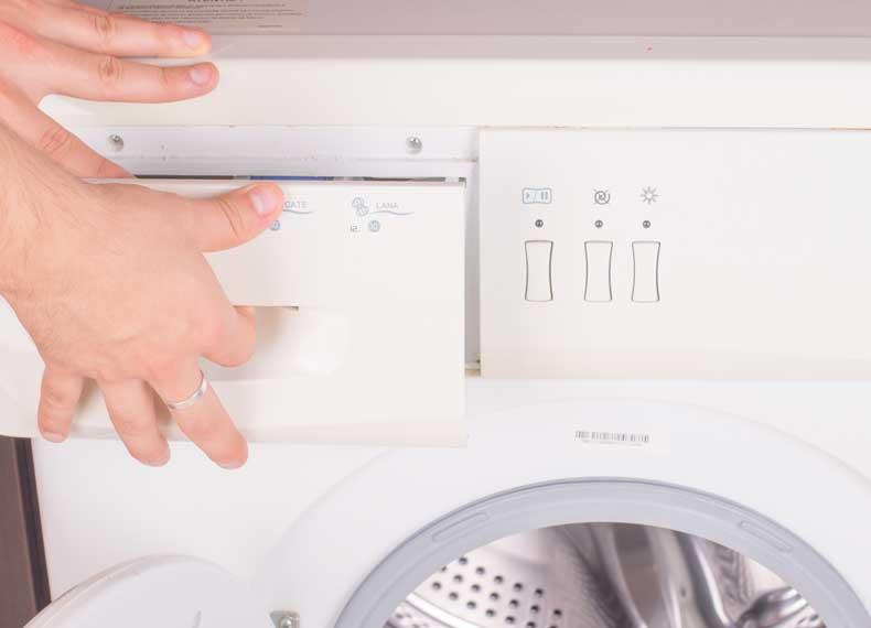 جاپودری ماشین لباسشویی