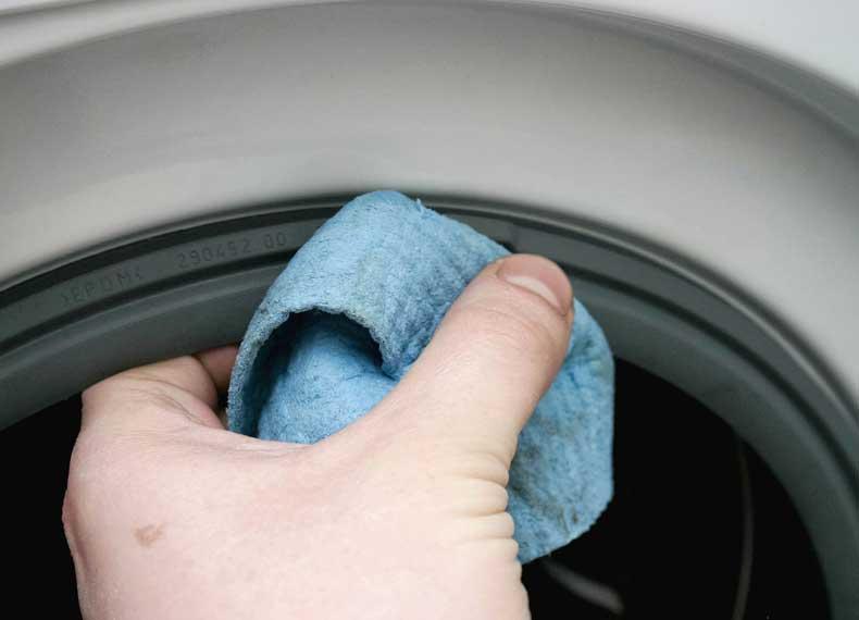 از بین بردن کپک ماشین لباسشویی