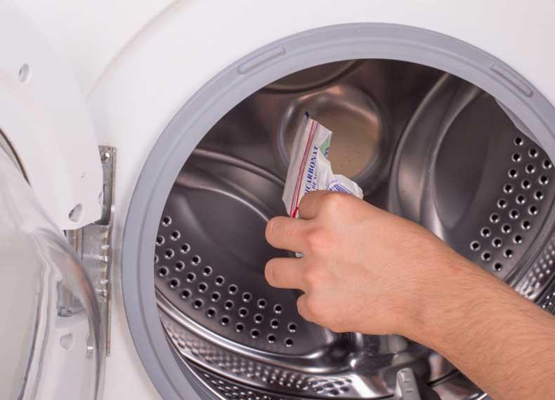 بوگیری ماشین لباسشویی