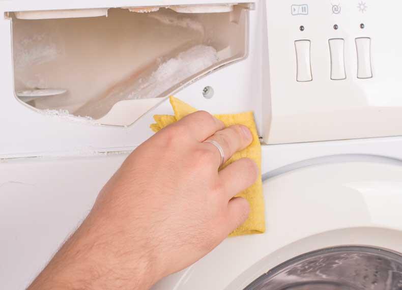 جرم گرفتن ماشین لباسشویی