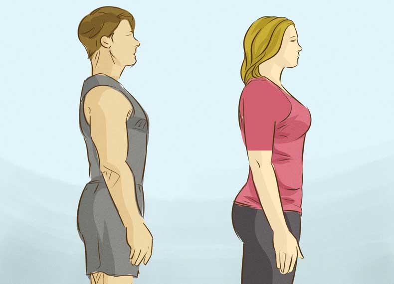 مخفی کردن شکم