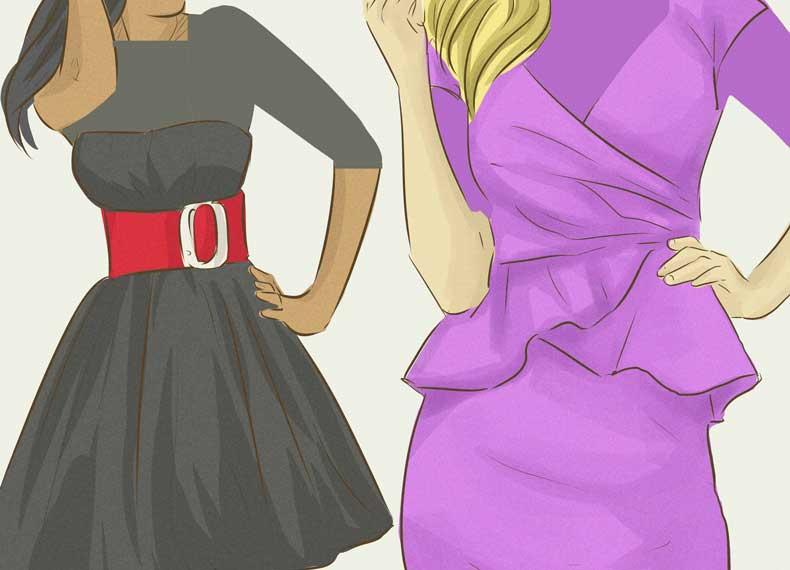 لباس مناسب برای کوچک کردن شکم