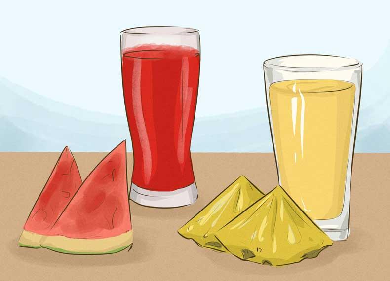 نوشدنی برای آب کردن شکم