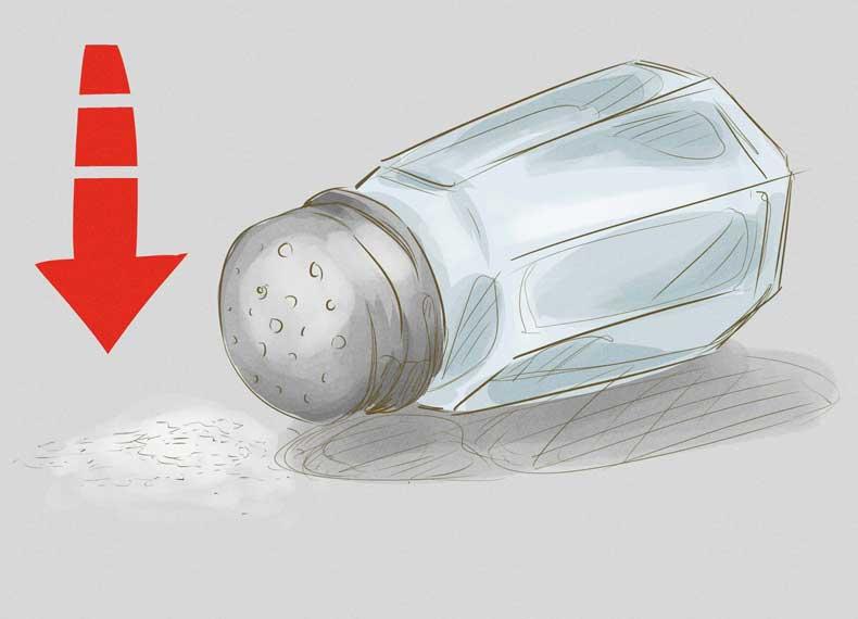 نمک و کاهش وزن