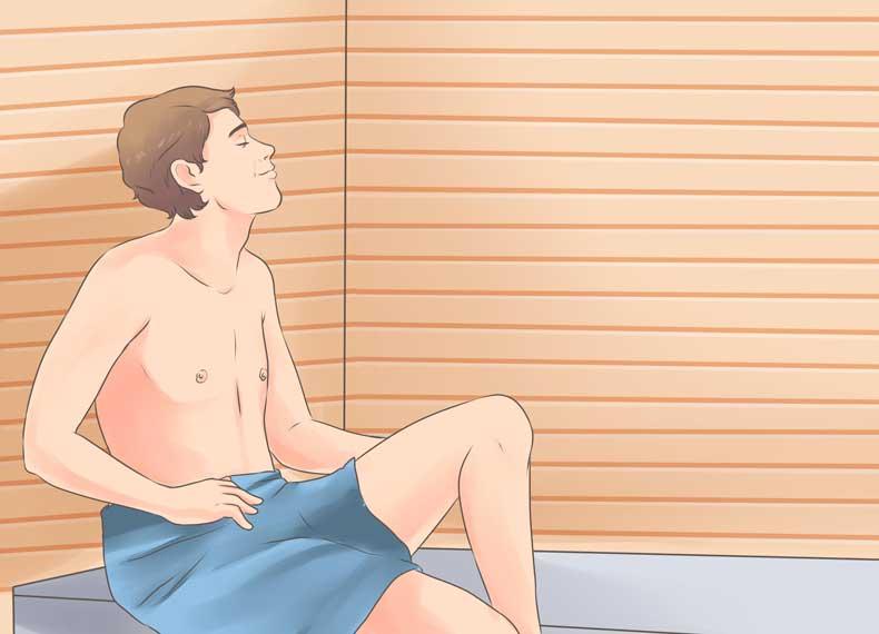 کاهش وزن سریع با سونا