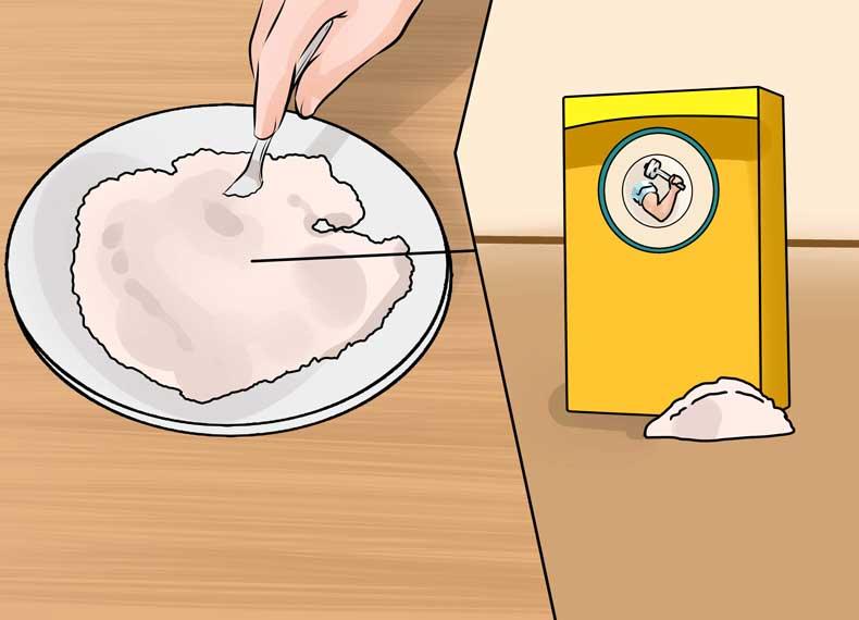 درمان جوش سرسیاه با جوش شیرین