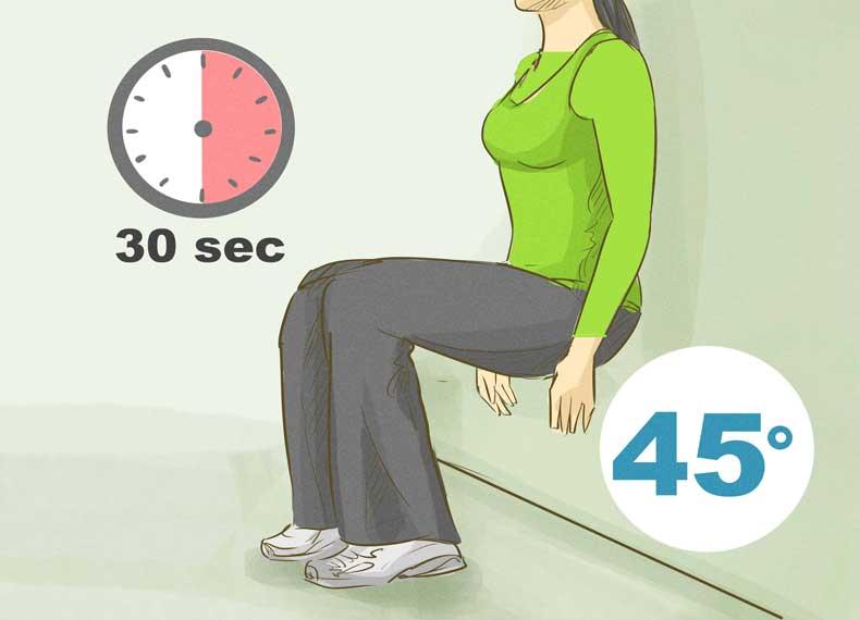 تمرین لاغر کردن ران
