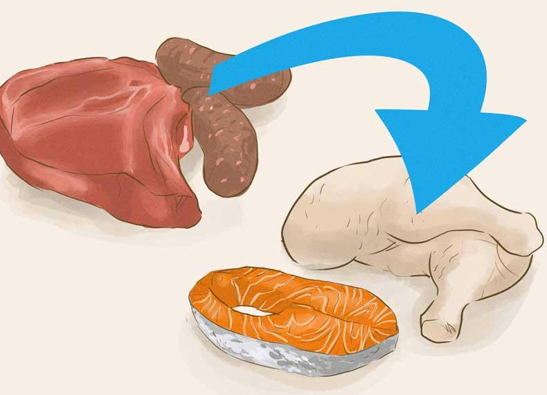 پروتئین و ران لاغر
