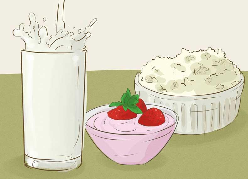 موادغذایی مفید برای ران چاق