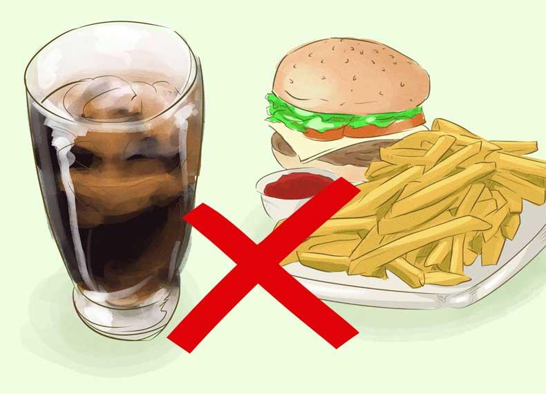 موادغذایی مضر برای ران