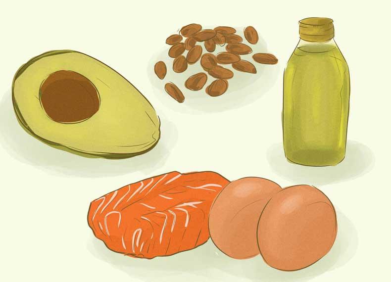 موادغذایی کوچک کننده شکم
