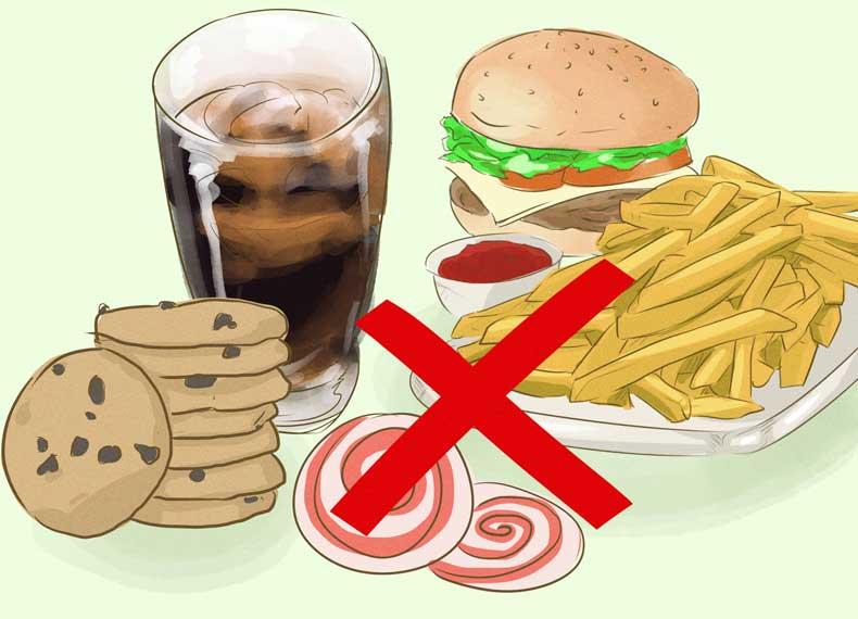 موادغذایی بزرگ کننده شکم