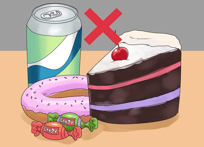 مواد غذایی بزرگ کننده شکم