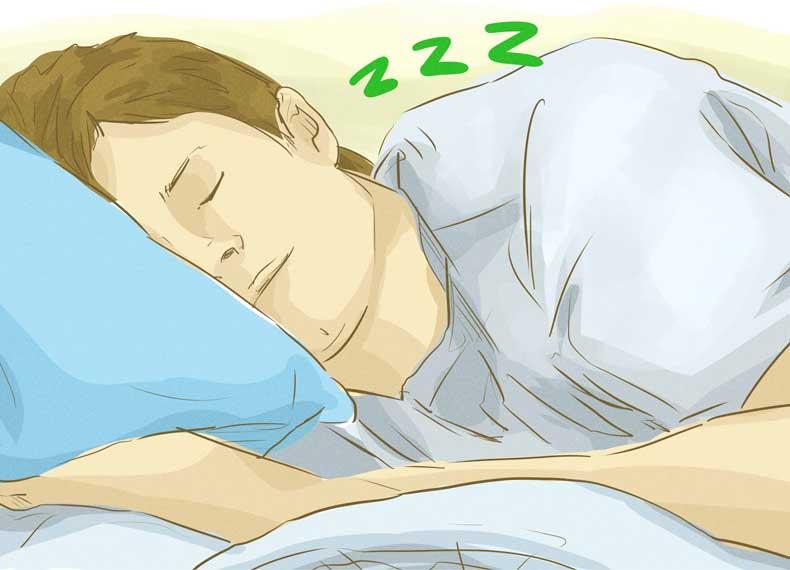 خوابیدن و اشتهای کم
