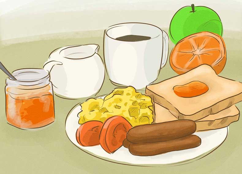 رژیم غذایی کاهش دهنده اشتها