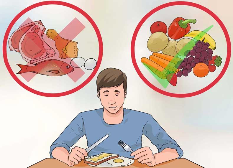 رعایت کردن گیاه خواری