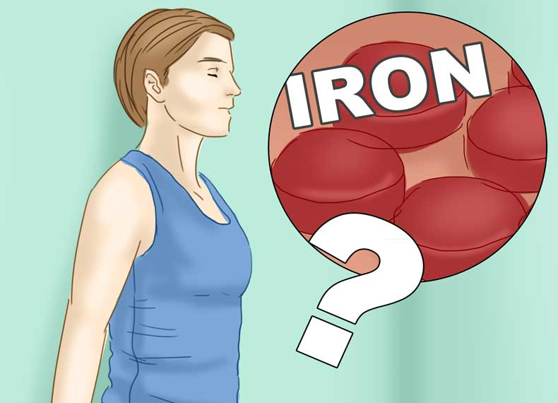 علائم کمبود آهن
