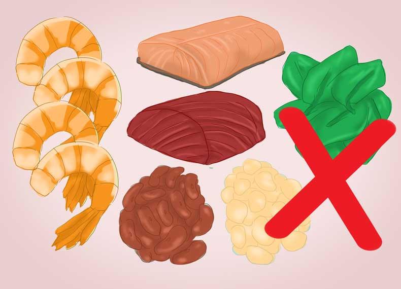منابع غذایی حاوی آهن