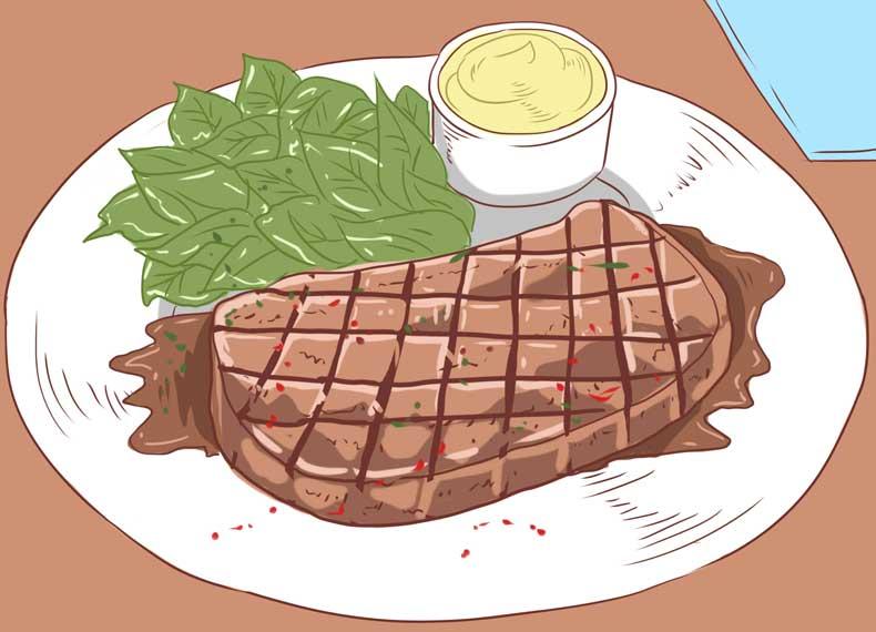 گوشت و ویتامین بی