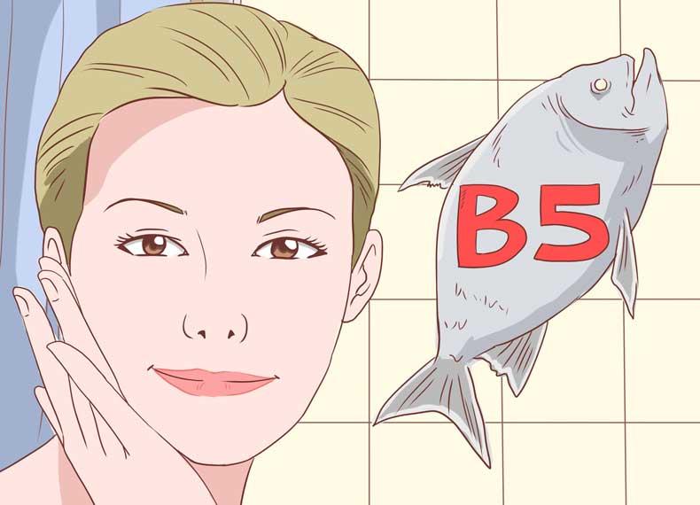 ویتامین بی برای زیبایی پوست