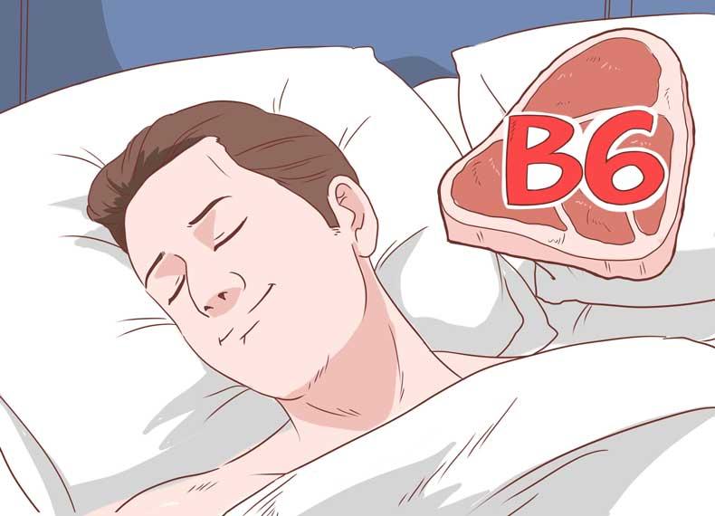 کم خوابی و ویتامین بی