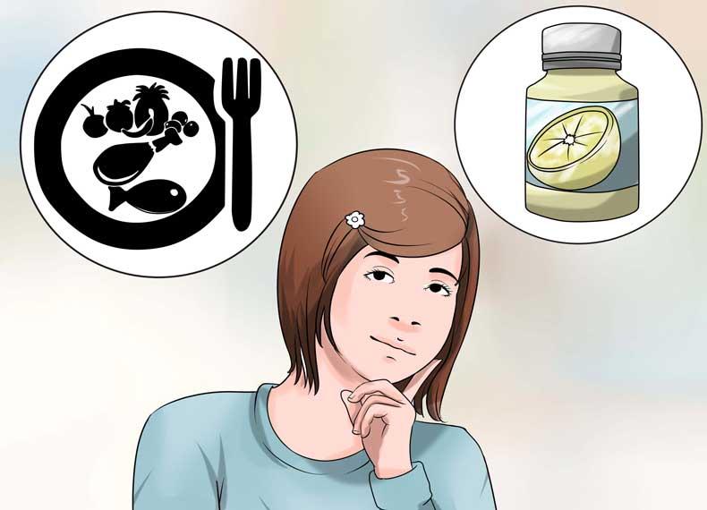 مصرف طبیعی ویتامین سی