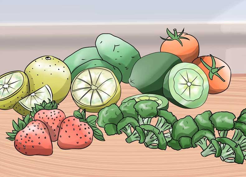 میوه های سرشار از ویتامین سی