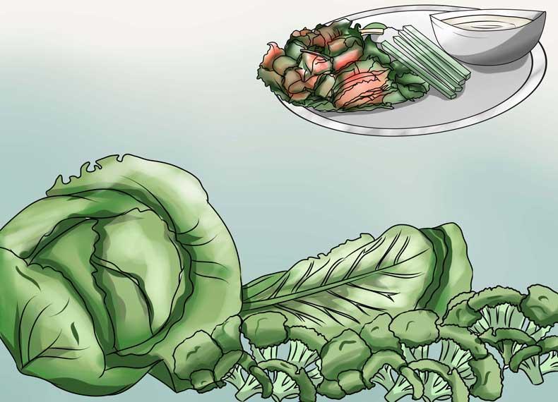 سبزیجات غنی از ویتامین سی