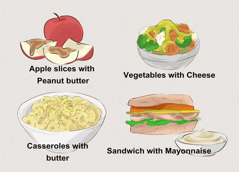 موادغذایی مناسب برای افزایش وزن