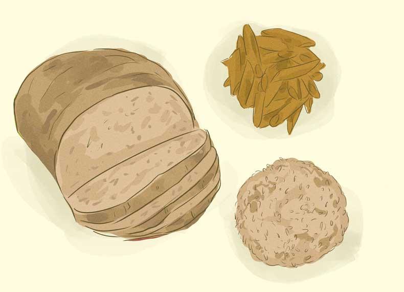 نان سبوس دار برای افزایش وزن