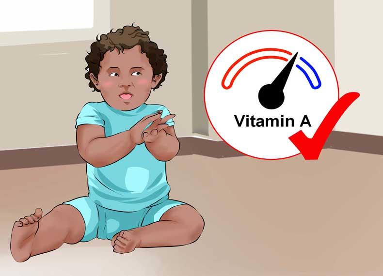 کمبود ویتامین A در کودکان