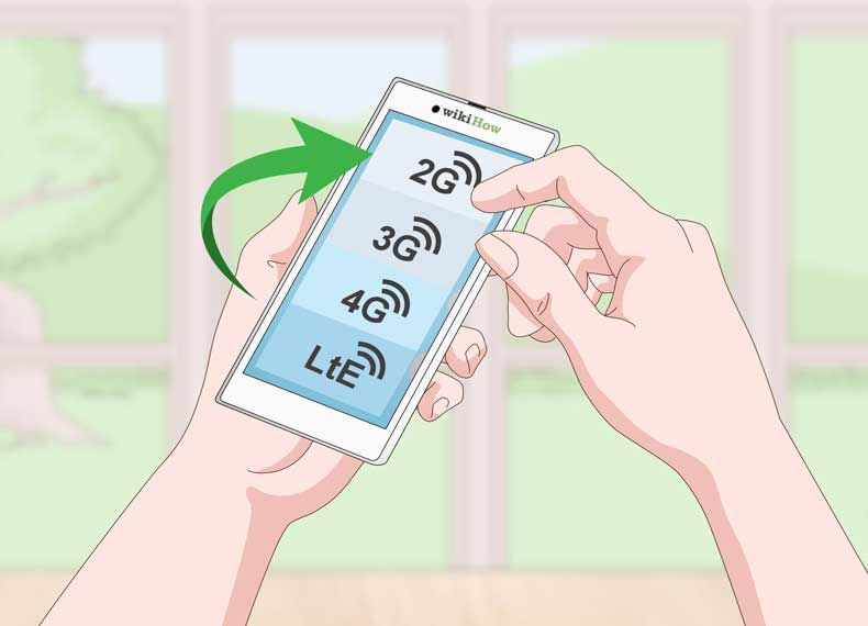 تغییر شبکه موبایل