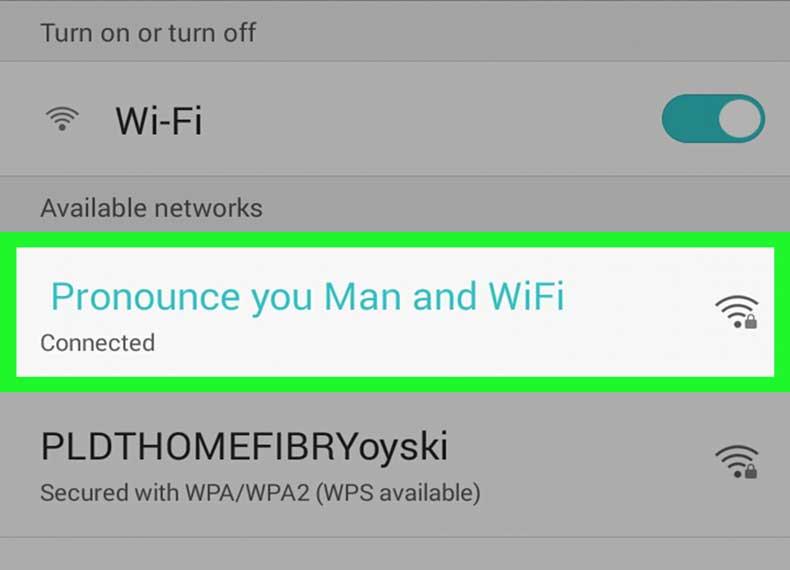 هک کردن موبایل با وای فای