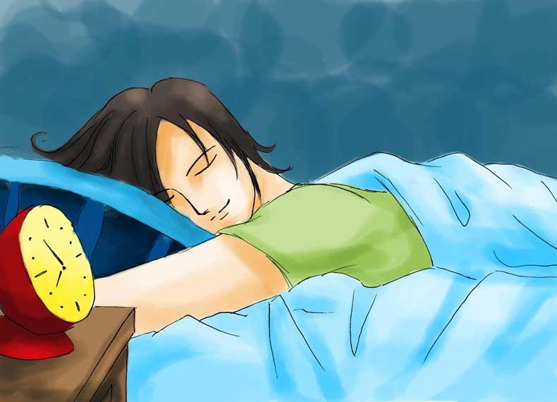 خواب کافی و اشتهای کم
