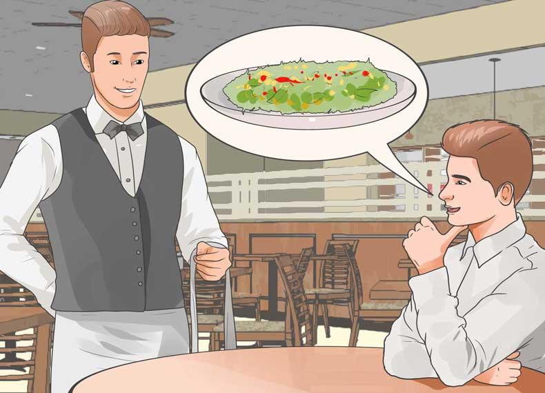 رستوران گیاهخواران