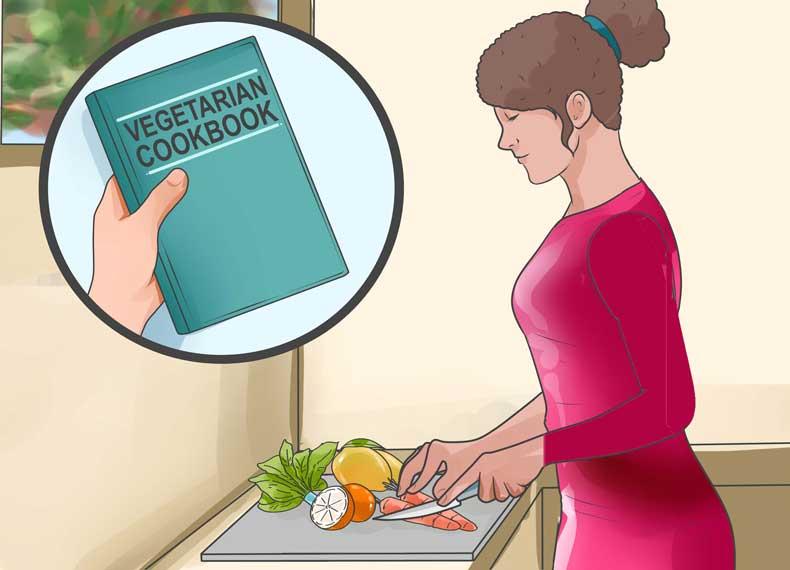 کتاب آشپزی گیاهخواران
