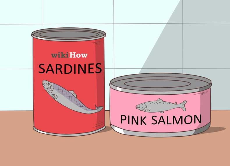 تن ماهی غنی از کلسیم