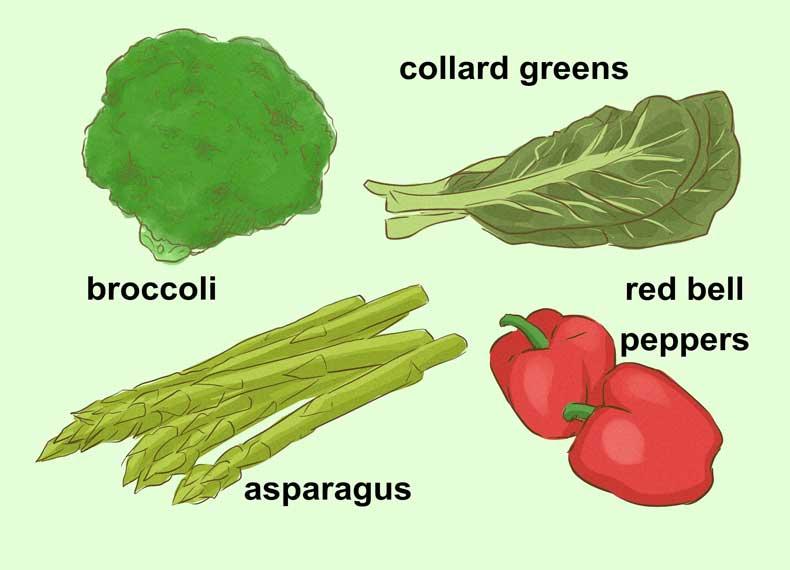 میوه های حاوی ویتامین E